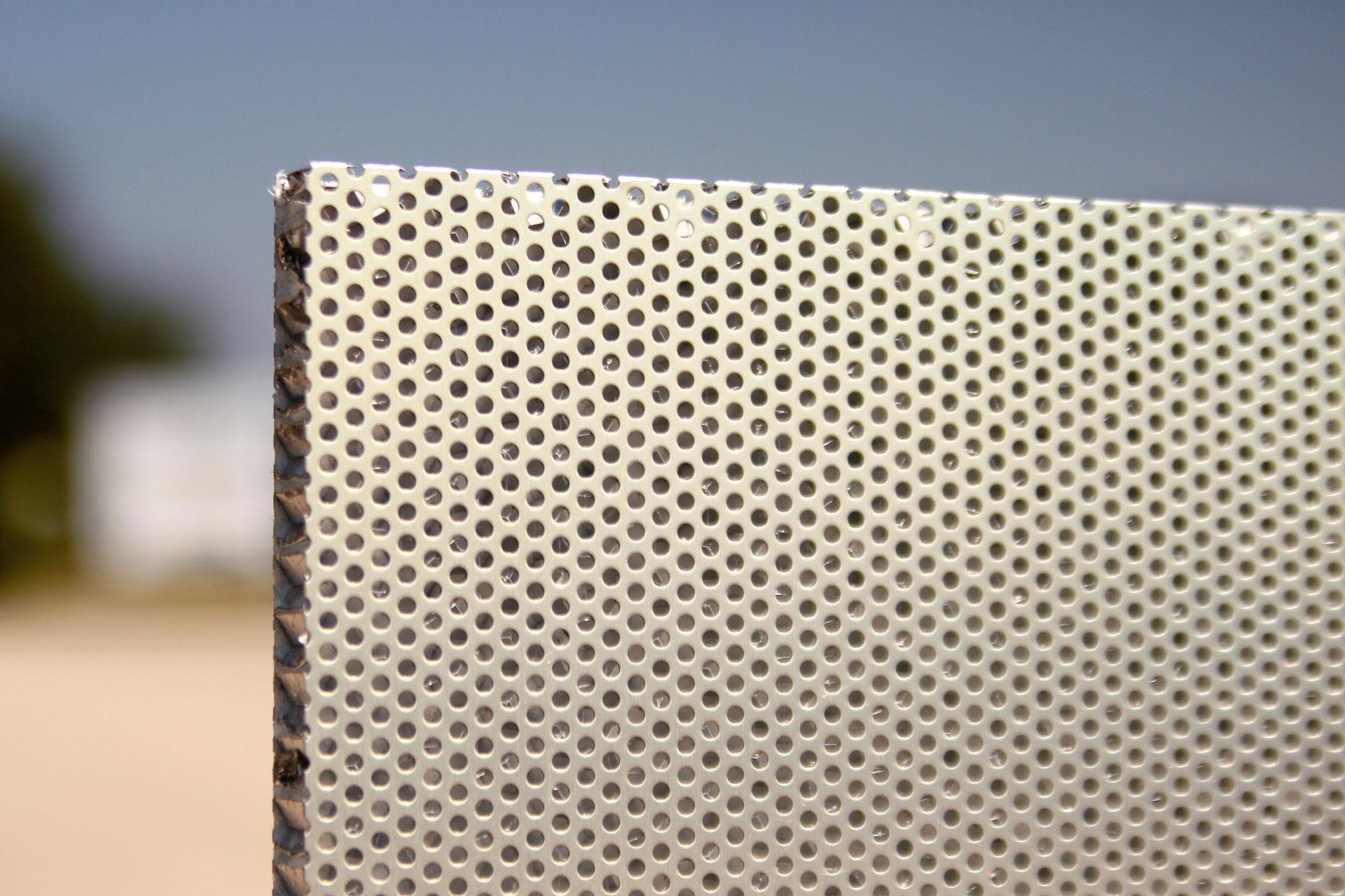 Aluminium Lochpaneel